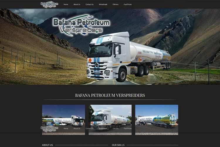 QumStudios Website Portfolio Bafana Petroleum
