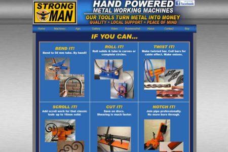 QumStudios Website Portfolio Strongman Metal Tools