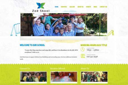 QumStudios Website Portfolio Zoe School