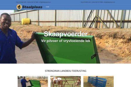 QumStudios Website Portfolio Staalplaas