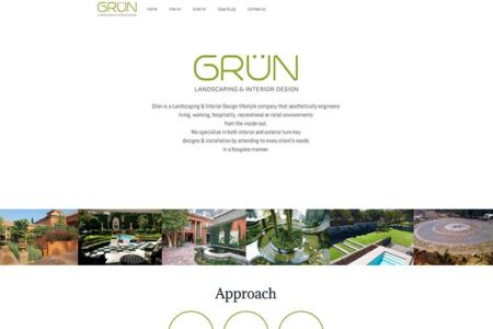 QumStudios Website Portfolio GRUN Design Website