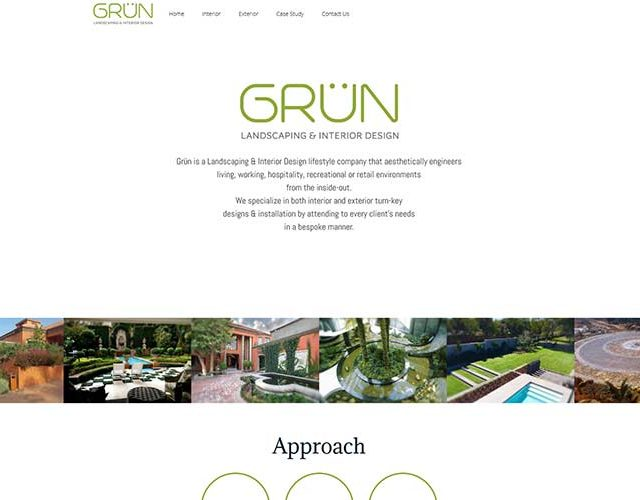 QumStudios Website Portfolio GRUN Design Website