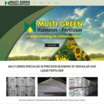Qum Studios Website Design Portfolio - Multi Green Kunsmis - Fertiliser