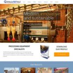 Qum Studios Website Design Portfolio - RUSANDUS Engineerd Processing Solutions