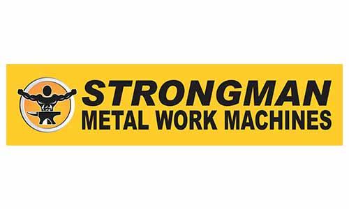 Qum Studios Logo Design Portfolio - Strongman Metal Tools