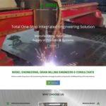 Qum Studios Website Design Portfolio Model Engineering Works Website