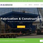 Qum Studios Website Design Portfolio ERHA Fabrication and Construction